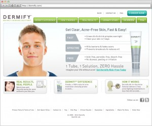 Dermify Site Home Page 2