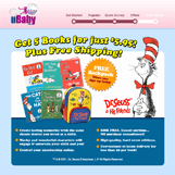 uBaby Dr. Seuss Landing Page